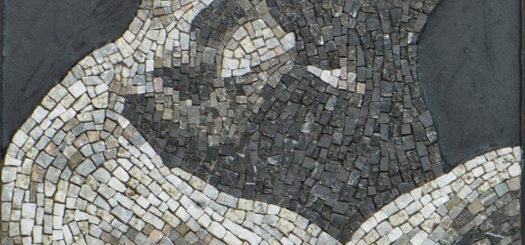 Des tableaux en mosaïque par Agnès